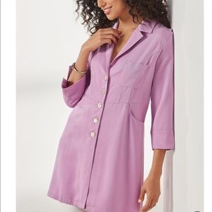 Soft Surroundings NWT Marcie Shirt Orchid Bloom S